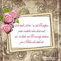 Verš na svatební oznámení: Až tiché Ano ze rtů Ti splyne...