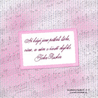 Svatební citát: Až když jsme potkali lásku...