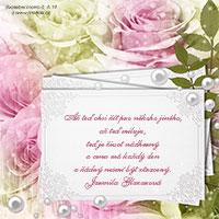 Svatební citát: Až teď chci žít pro někoho jiného...