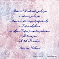 Svatební citát: Beru si Tě takového, jaký jsi...